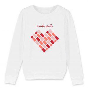 MEME | Child Sweat-shirt | Made with Love