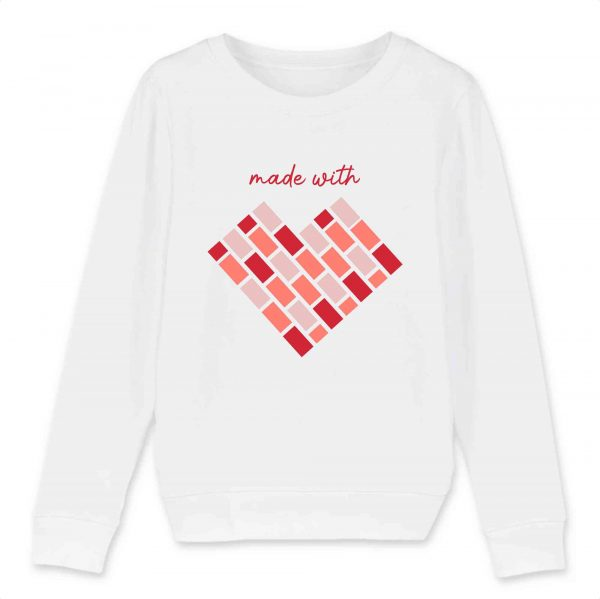 MEME   Child Sweat-shirt   Made with Love